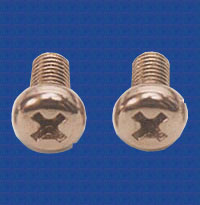 Brass Machine Screws cheese head screws pan head screws